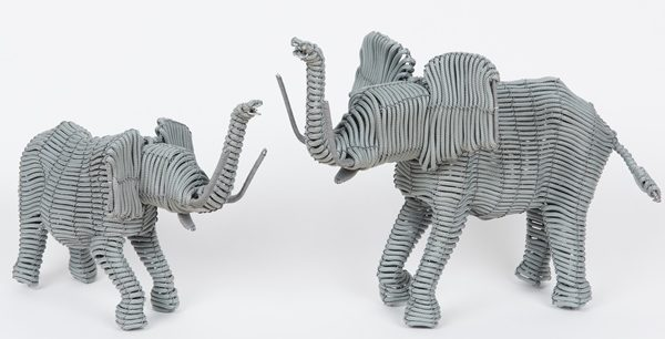 animaux en corde tressée - hand wove nrope animals | mahatsara