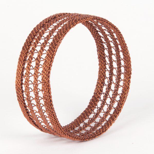 bracelet en fin de cuivre - copper wire bracelet | mahatsara