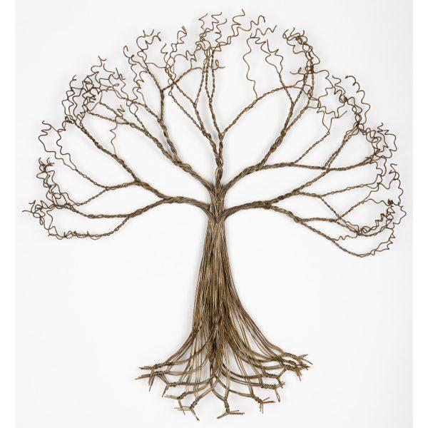 arbre en fil metallique- arbre de vie - wire tree baobab - tree of life | mahatsara
