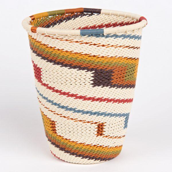 corbeille en fil de téléphone - telephone wire cup basket