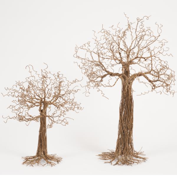 arbre en fil metallique - wire tree baobab | mahatsara