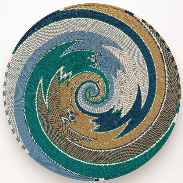 plat en fil de téléphone - telephone wire platter