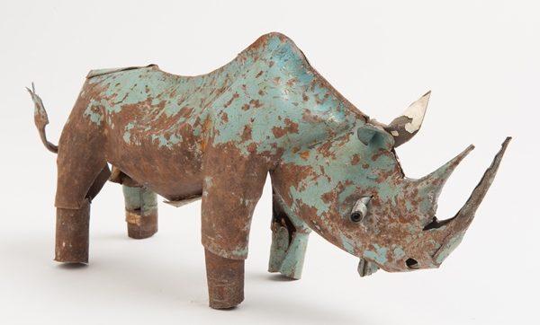 animal en métal recupéré - animal in recycled metal | mahatsara