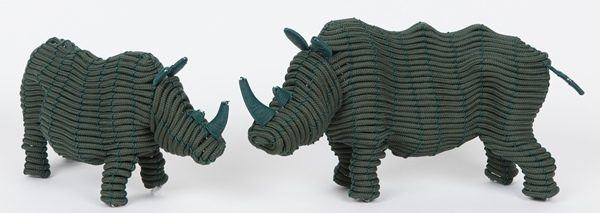 animaux en corde tressée - hand woven rope animals | mahatsara